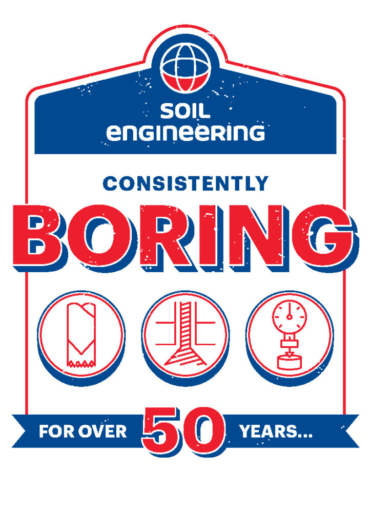Boring at Geotechnica 2021